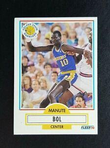 Fleer 90 NBA Basketball Card - #62 Manute Bol : Golden State Warriors
