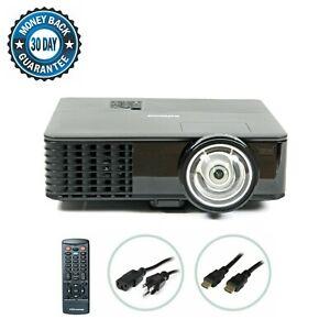 InFocus IN146 DLP Projector Short-Throw 2700 ANSI Cinema HD 1080p 3D HDMI bundle