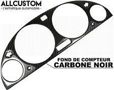 FOND DE COMPTEUR VITESSE JAUGE FIBRE CARBONE NOIR CADRAN pour BMW E38 SERIE 7