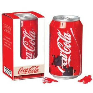 Coca Cola 40 piece 3D can shaped jigsaw puzzle (sk)
