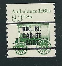 Scott #2128a...8.3 Cent...Ambulance...Precancel... 20 Stamps