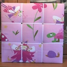 Pink Fairy Message Board - Specially Made by Lesley Ann