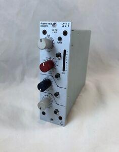Rupert Neve Portico 511 Mic Microphone Pre Amp 500 Series RND Silk 48v High Pass
