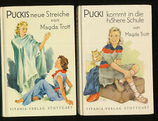 Trott Magda Pucki kommt in die höhere Schule + Puckis neue Streiche Tiania  Zgut