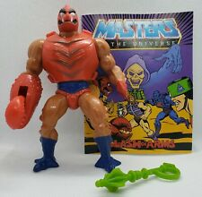CLAWFUL Vintage Masters Of The Universe Action Figure w/ Mini Comic & Weapon