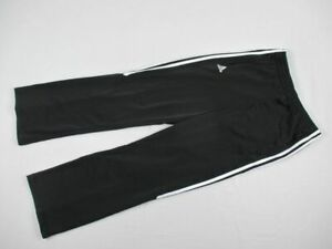 adidas Pants Men's Black Poly Athletic New Small