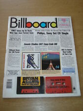 BILLBOARD MAGAZINE 1987 FEB 21 SIMPLY RED WHEELS GREAT MUSIC PHOTOS & ARTICLES
