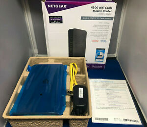 NETGEAR C3000 340 Mbit/s Cable Router C3000100NAS New