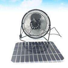 Solar Ventilator mit 5w multi solar zell usb fÜr zuhause garden powerbank sommer