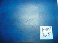 Dark Royal Blue Marble Vinyl Upholstery Fabric 1 Yard  V553