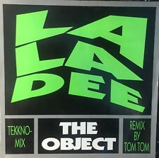 """THE OBJECT La La Dee 12"""" Single VG+ Vinyl 1991 Electronic Techno Germany"""