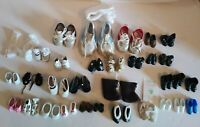 Doll Barbie Shoe Lot 31 Pairs Boots Various Sizes Colors & Brands Accessories