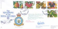 RAF FDC14 1993 Autunno RAF FDC FIRMATO Co 6 JAGUAR SQD. sweetman