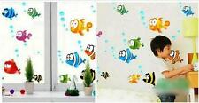 Large eyes fish Home Decor Removable Wall Sticker Decal Decoration Vinyl Mural