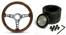 SAAS WOODEN STEERING WHEEL +  BOSS KIT TO SUIT HOLDEN COMMODORE VN,VP,VR,VS