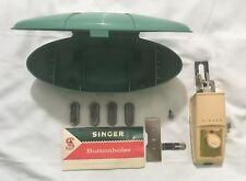1960 Vintage Singer Buttonholer #489500 / 489510 w/ Case & Instructions FreeShip