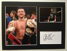 [A0796] Carl Froch Autograph BOXING Signed 12x16 Display AFTAL
