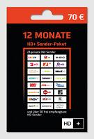 HD Plus HD+ Verlängerung 12 Monate für HD01 HD02 HD03 HD04 Karte SAT Empfang