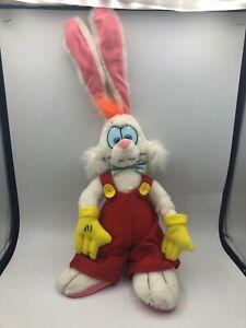 Vtg 1987 Who Framed Roger Rabbit Plush Stuffed Toy Animal Disney Amblin Creata