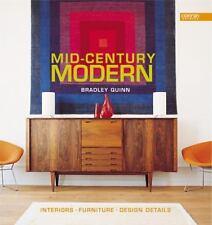 MID CENTURY MODERN Bradley Quinn 1950s Interior Design Furniture Details Deco