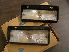 NOS OEM Ford 1971 1972 Mercury Park Light Lamp Lenses Monterey