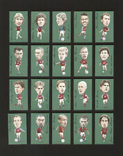 ASTON VILLA FAMOUS FOOTBALLERS 20 Card Set - Platt McGrath Southgate Barry Yorke