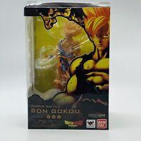 "Dragon Ball Z 6"" Figurine Super Saiyan Son Goku Gokou DBZ Bandai Figuarts Zero"