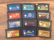 Game Boy Advance:   LOT DE 12 JEUX    EN LOOSE      PAL