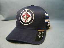 14edbd3a9 Adidas Winnepeg Jets Structured Flex Small Medium BRAND NEW hat cap NHL  Draft 17