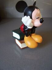 Extremely Rare! Walt Disney Mickey Mouse The Thinker Demons & Merveilles Statue