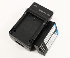 Charger + 2000mAh Battery For Pentax D-Li109 K-30 K-50 K-500 K-S1 K-S2 Kr Camera