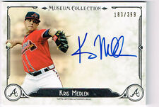 KRIS MEDLEN 2014 TOPPS MUSEUM COLLECTION AUTO ON CARD # 183/399 BRAVES