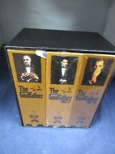 Godfather Trilogy - VHS - 6 tape set