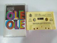 Ole Ole 1990 Marta Sanchez Hispavox - Cinta Tape Cassette