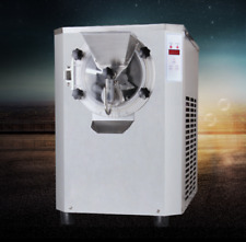 Horizontal automatic hard ice cream machine 6L cylinder,R410a refrigerant 20L/H