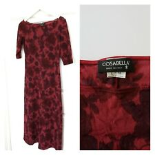 Vintage 90s COSABELLA Italy nylon mesh dress L