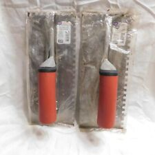 Pair of Marshalltown Notched Trowel 15689