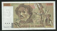 100 Francs Delacroix 1995 f02a SUP / SPL