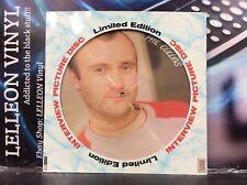 Phil Collins Interview Picture Disc Vinyl BAK2020 Pop 80's