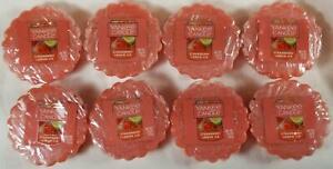 Yankee Candle Tarts: STRAWBERRY LEMON ICE Wax Melts Lot of 8 Red New Fruit