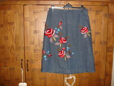Boden Denim Straight, Pencil Casual Skirts for Women