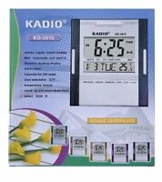 Digital Jumbo Wall Mount And Table Temperature Display Clock KD-3810 KADIO