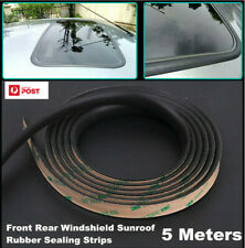 5 METER EPDM Rubber Seal Strips For Car Windshield Sunroof Window Anti-Nosiy AU