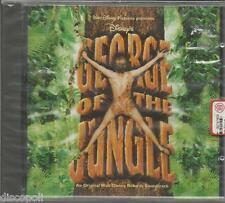 GEORGE OF THE JUNGLE - CD SIGILLATO OST WALT DISNEY 1997 MADE IN ITALY