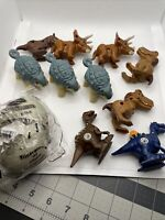 2020 McDonalds Happy meal toys Jurassic World Cretaceous. Lot Of 11