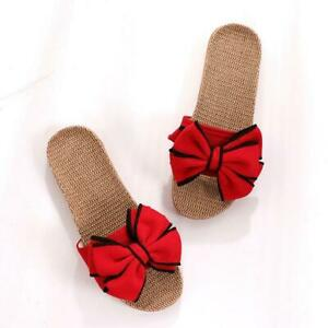 Butterfly-Knot Home Slippers Summer Cool Eva Slippers For Women