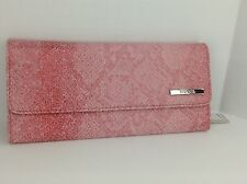 Women's KENNETH COLE by MACYS XL Red Pink Clutch Wallet - $50 MSRP - 10%