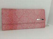 Women's KENNETH COLE by MACYS XL Red Pink Clutch Wallet - $50 MSRP - 10%