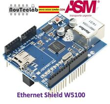 W5100 Ethernet Shield 100% Arduino Compatible