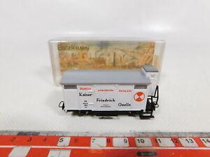 CD127-0,5 # Egger Bahn H0e/Dc 2305 Freight Car Kaiser Friedrich Quelle DB Mint +